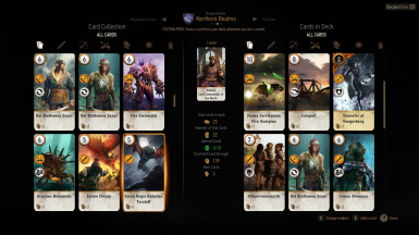 Neutral Gwent cards