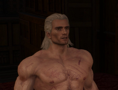 With Geralt on Steroids Mod