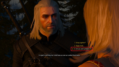Fixed - dialogue option moved during Funeral