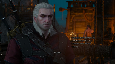 Restored missing dialogue with Avallac'h