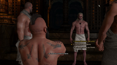 Fixed Missing Dialogue - Bathhouse