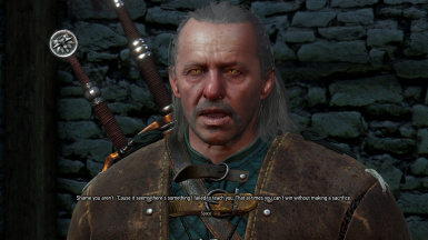 Fixed Missing Dialogue - Vesemir During Battle of Kaer Morhen BEFORE the Council