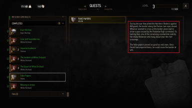 Fixed - Journal Objective and Entries now show up on quest Fake Papers