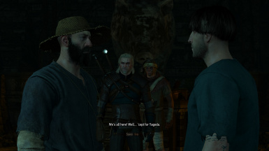 Fixed Missing Dialogue - Fool's Gold