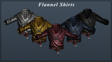 Flannel Shirts 5in1 Pack
