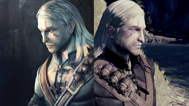 Geralt Face Mod From Witcher One ( 2007 ) tw1