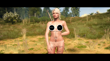 Hmm. Non edited naked body. As the pictures says.
