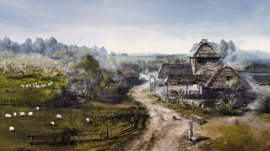 Concept main: White Orchard