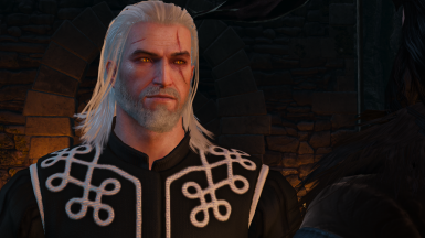 Black and White Skellige Tunic