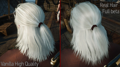 Geralt Hairworks Colors And Styles At The Witcher 3 Nexus Mods And