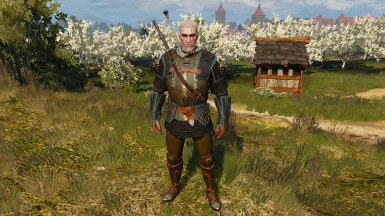 Mastercrafted Griffin Armor Retexture