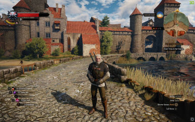 Lvl 11 post-Velen storyline save. First approach to Novigrad