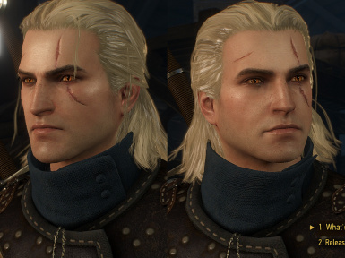 V2 Revised Geralt Vanilla Scar