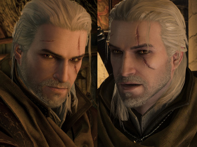 YoungerGeralt Original Scar