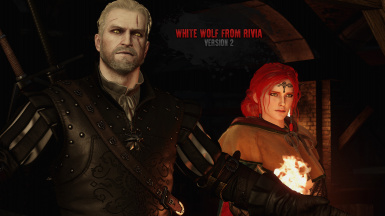 Geralt's Skin - White Wolf From Rivia