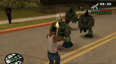 Monsters At Grove Street Bridge