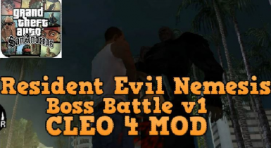 Resident Evil Nemesis Boss Battle