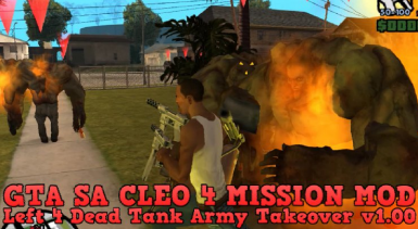Left 4 Dead Tank Army Takeover