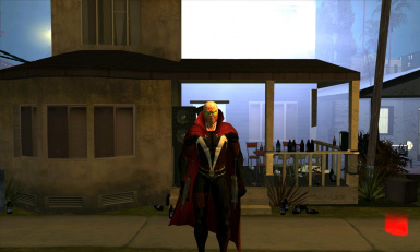 Spawn with Cape Movie Version Skin for GTA SA V 3 at Grand