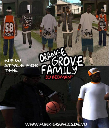 new style for the ORANGE GROVE FAMILY