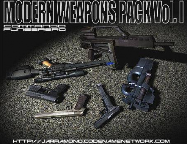 Modern Weapons Pack Volume I