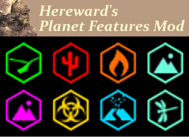 Hereward's Planet Features