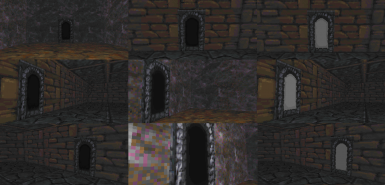 Different Dungeon Exits