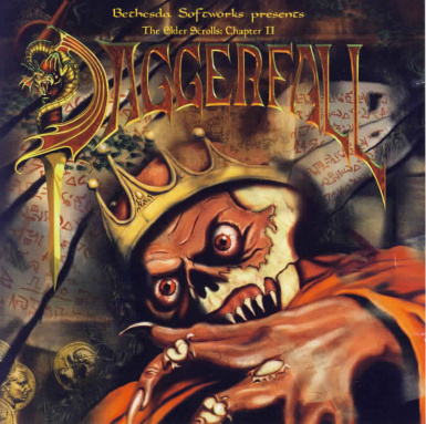Daggerfall theme main menu music and reveal music
